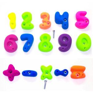 rocodromo infantil matematicas